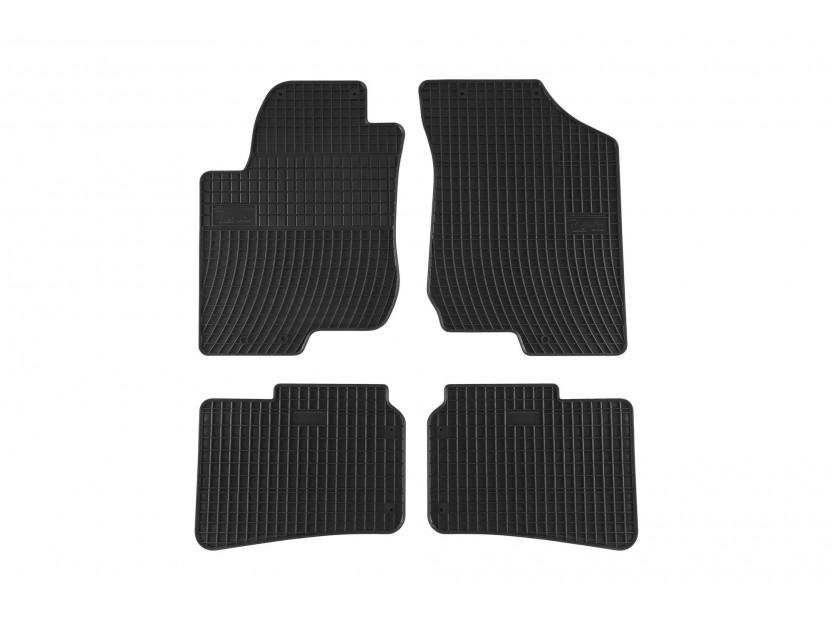 Гумени стелки Frogum за Hyundai i30 2007-2012 4 части черни