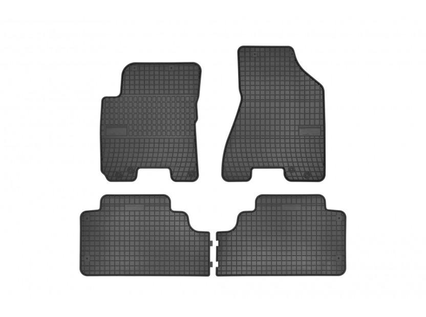 Гумени стелки Frogum за Hyundai Tucson/KIA Sportage 2002-2010 4 части черни