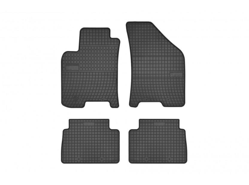 Гумени стелки Frogum съвместими с Chevrolet Lacetti, Daewoo Nubira 2003-2009, 4 части, черни