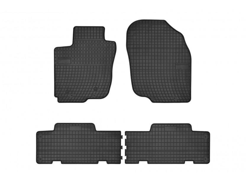 Гумени стелки Frogum за Toyota RAV4 2005-2012 4 части черни