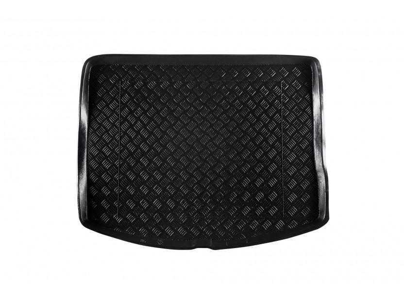 Полиетиленова стелка за багажник Rezaw-Plast съвместима с Mazda 3 хечбек 2009-2013 със стандартна резервна гума
