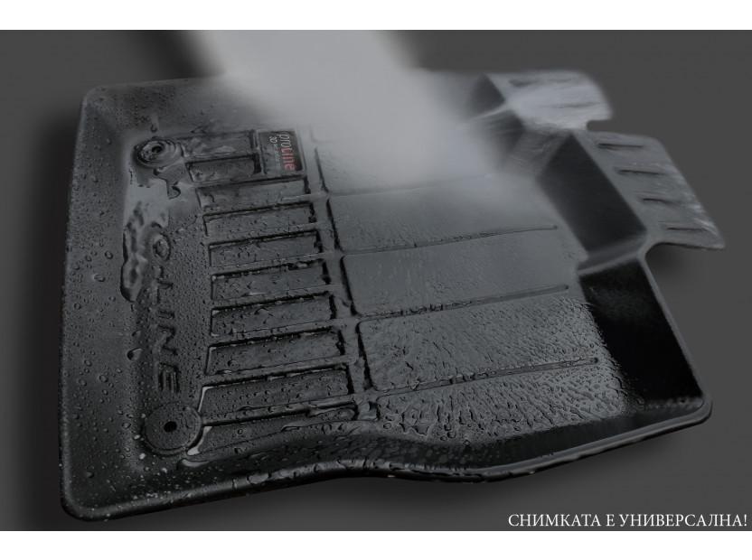 3D гумени стелки Frogum за Volkswagen Arteon след 2017 година, 4 части, черни 6