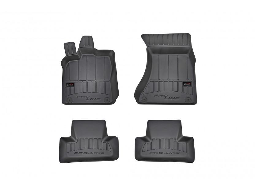 3D гумени стелки Frogum за Audi Q5 2008-2017/ SQ5 2014-2017, 4 части, черни
