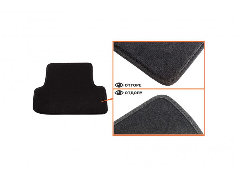 Мокетени стелки Petex за Audi A3 3 врати 09/2012 => 4 части черни (B014) Style материя 4