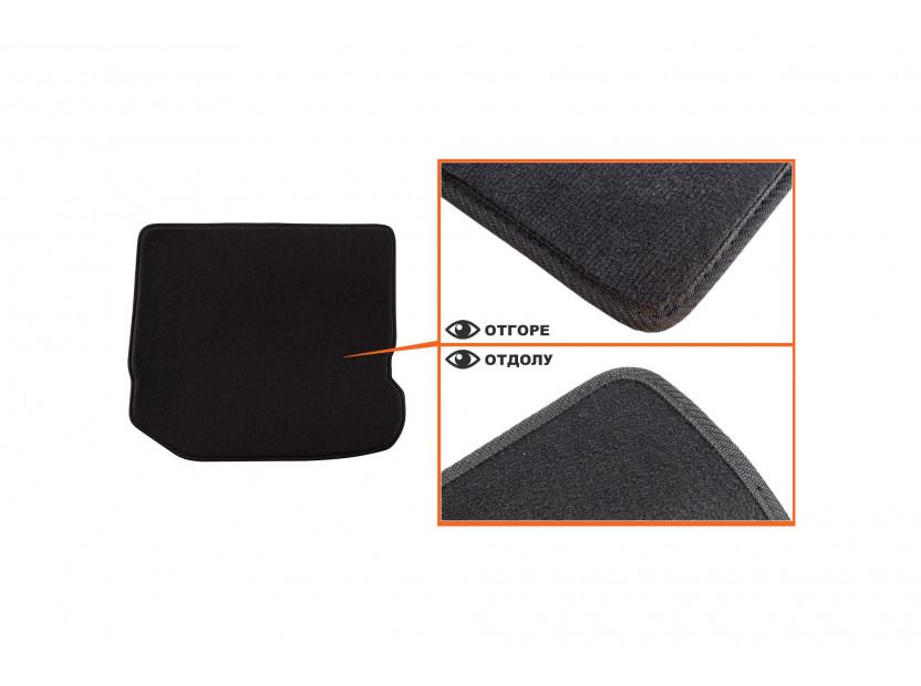 Мокетни стелки Petex съвместими със Seat Toledo, Leon 1999-2005, 4 части, черни, материя Style, захват B014U 4