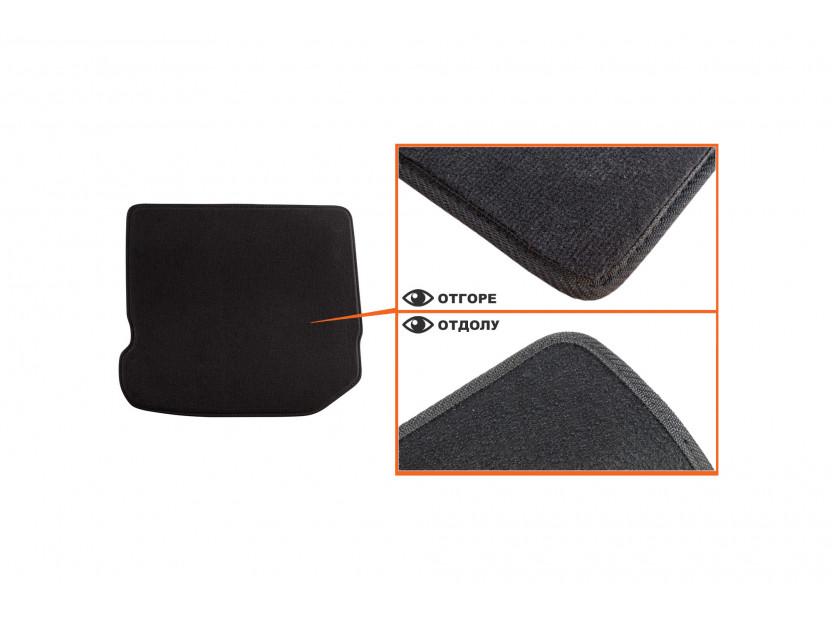 Мокетни стелки Petex съвместими със Seat Toledo, Leon 1999-2005, 4 части, черни, материя Style, захват B014U 5