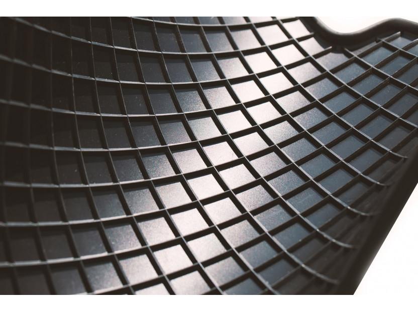Гумени стелки Petex за Audi Q5 11/2008 => 4 части черни (B014) 3