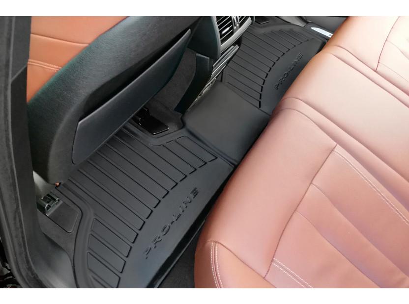 3D гумени стелки Frogum за BMW X5 F15 2013-2018, 4 части, черни 5