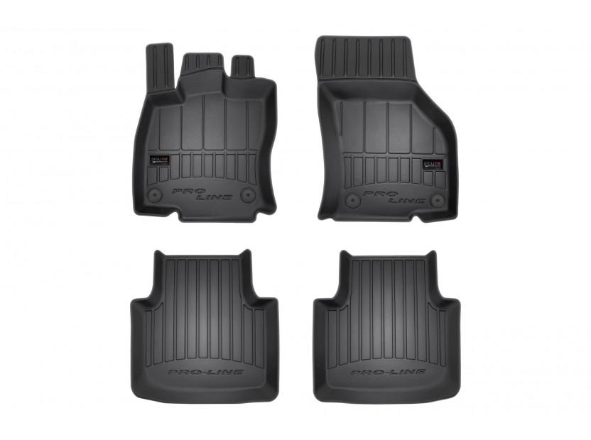 3D гумени стелки Frogum за Volkswagen Arteon след 2017 година, 4 части, черни