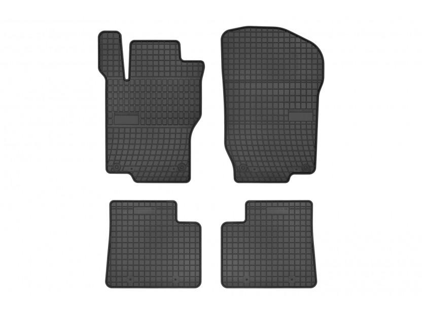 Гумени стелки Frogum за Mercedes M класа ML W164 07/2005-10/2011 /GL класа X164 09/2006-10/2012 4 части черни
