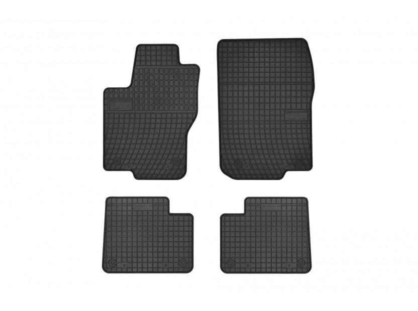 Гумени стелки Frogum за Mercedes M класа ML W166 11/2011-2015/GL класа X166 2012 => 4 части черни