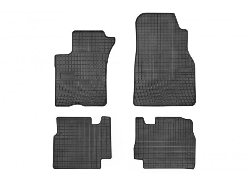 Гумени стелки Frogum за Mercedes ML W163 2002-2005 4 части черни