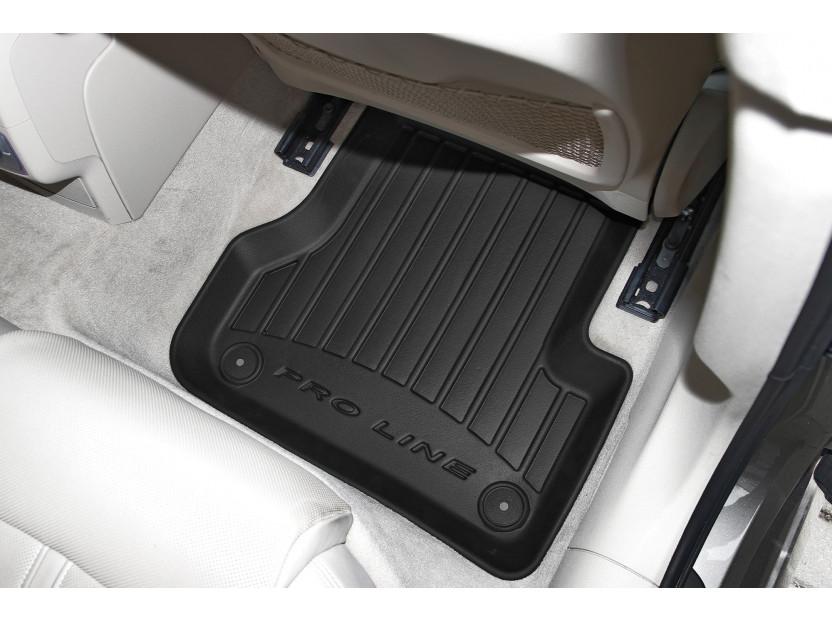 3D гумени стелки Frogum за Audi A6 2011-2017, 4 части, черни 4