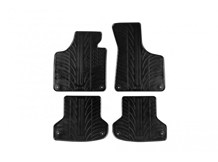 Гумени стелки Gledring за Audi A3 2003-2011/ Audi A3 Sportback 5 врати 2004-2011 4 части черни