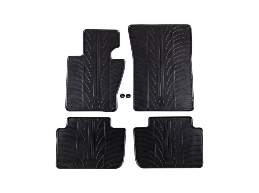 Гумени стелки Gledring за BMW Серия X3 Е83 2004-2009 4 части черни