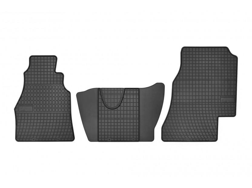 Гумени стелки Frogum за Mercedes Sprinter 1995-2006/VW LT 1996-2006 3 части черни