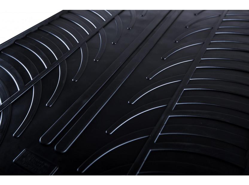 Гумени стелки Gledring за Audi Q7 след 2006 година 4 части черни 2