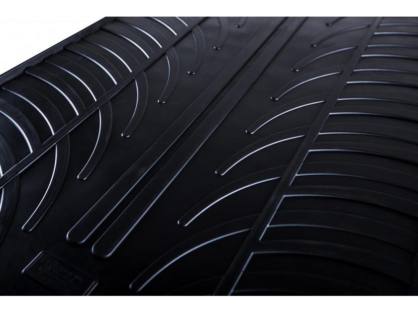 Гумени стелки Gledring за BMW X2 F39 след 02.2018 година 4 части черни 2