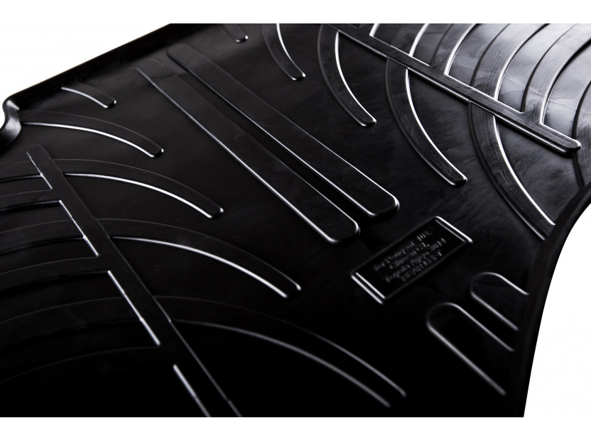 Гумени стелки Gledring за Audi Q7 след 2006 година 4 части черни 4