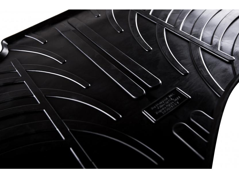 Гумени стелки Gledring за Fiat Panda 2003-2011 4 части черни 4