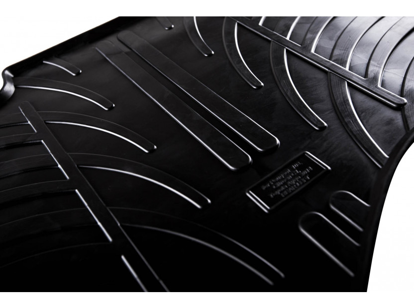 Гумени стелки Gledring за Audi Q7 след 6.2015 година/Q8 след 2018 година 4 части черни 4