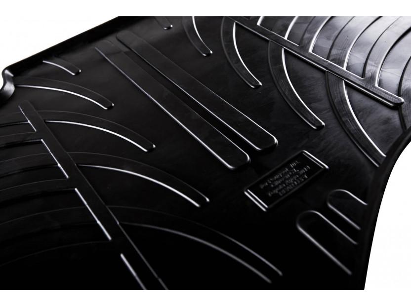 Гумени стелки Gledring за Audi A6 1997-2004 4 части черни 3