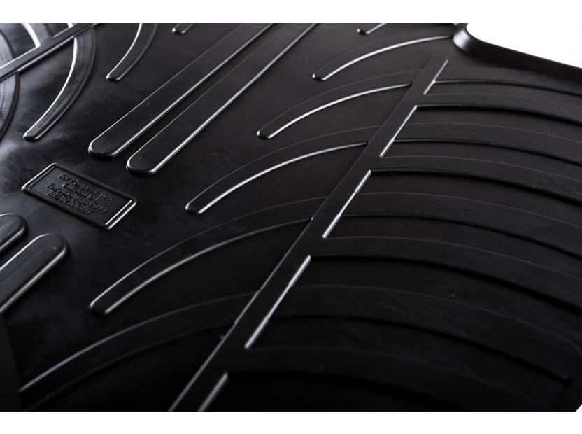 Гумени стелки Gledring за BMW X1 F48 след 06.2015 година 4 части черни 3