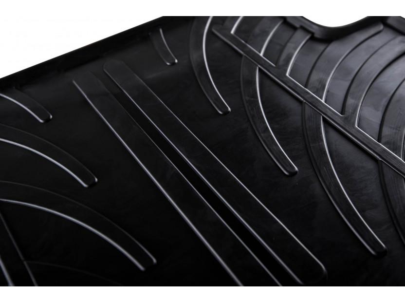 Гумени стелки Gledring за Audi A6 след 2011 година/A7 след 2010 година 4 части черни 2