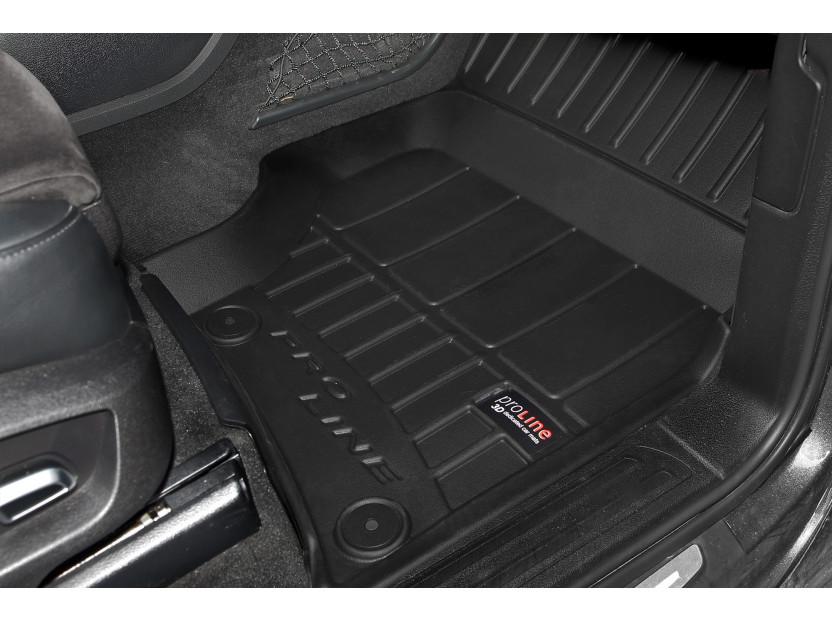 3D гумени стелки Frogum за Audi Q7 2006-2015, 4 части, черни 3