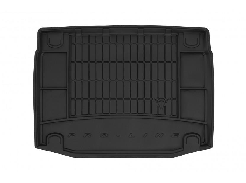 Гумена стелка за багажник Frogum за Kia Cee'd хечбек след 2018 година с 5 врати в долно положение на багажника