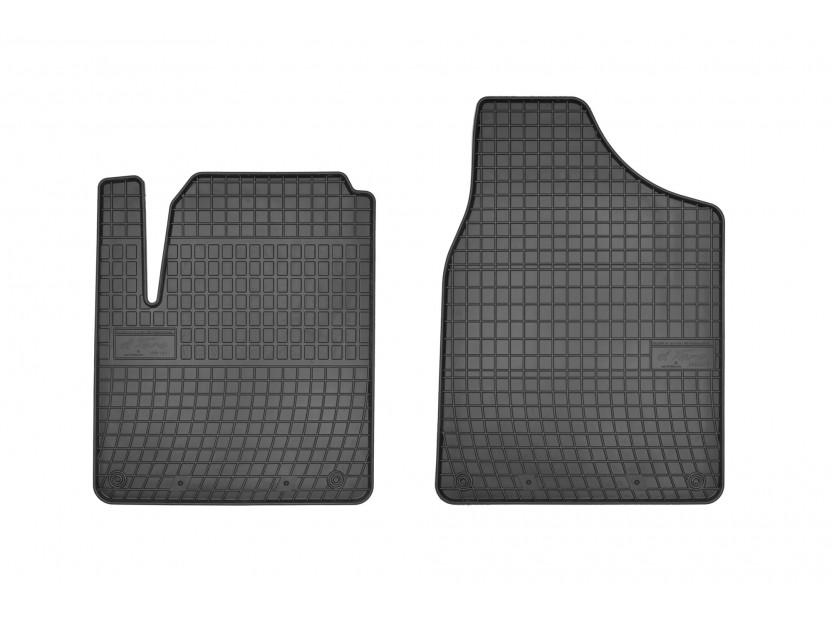 Гумени стелки Frogum за Ford Galaxy 1995-2006, Seat Alhambra, VW Sharan 1995-2010, с 2 места, 2 части черни