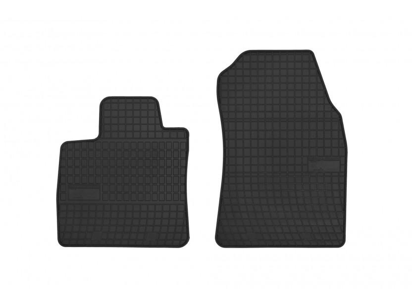 Гумени стелки Frogum за Ford Courier след 2014 година, 4 части черни