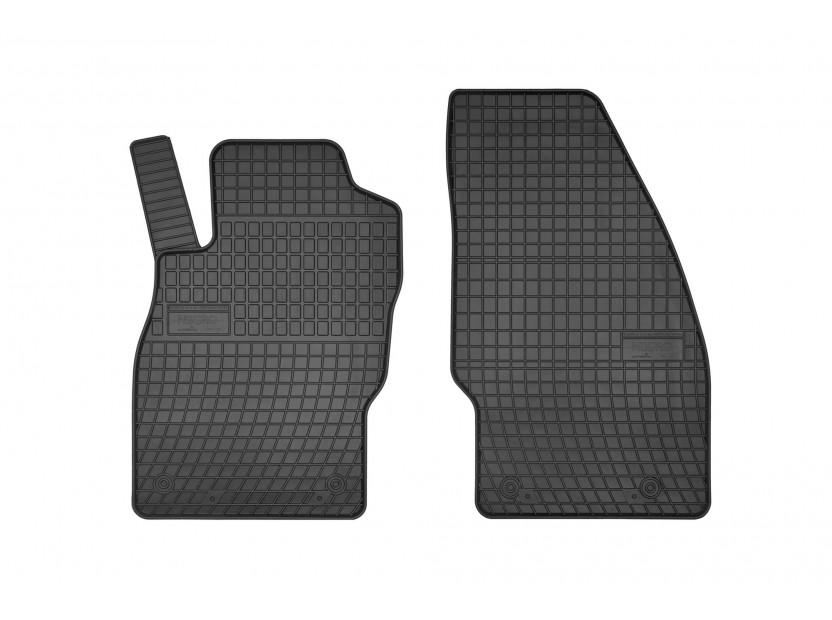 Гумени стелки Frogum за Opel Corsa Е VAN 2014-2019, 2 части черни