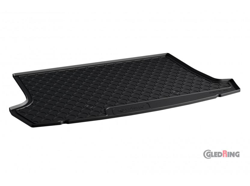 Гумена стелка за багажник Gledring за VW T-roc след 2017 година в горно положение на багажника 2