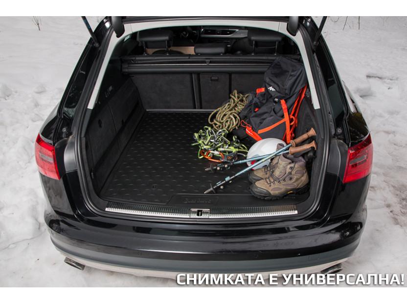 Гумена стелка за багажник Gledring за VW T-roc след 2017 година в горно положение на багажника 5
