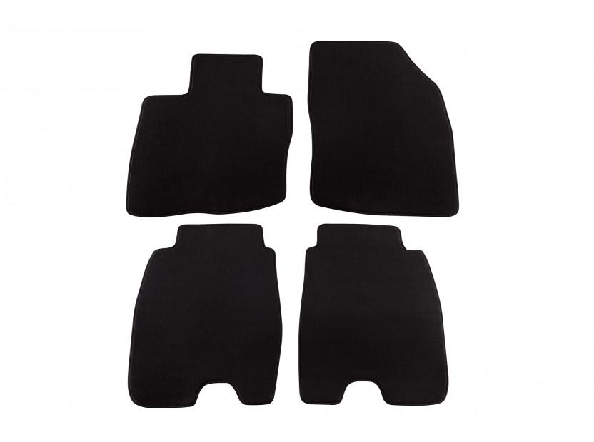 Мокетени стелки Petex за Honda Civic 5 врати с големи задни стелки 1/2006-1/2012 4 части черни (KL01) Style материя