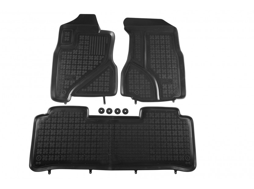 Гумени стелки Rezaw-Plast за Honda CR-V 2002-2006 3 части черни