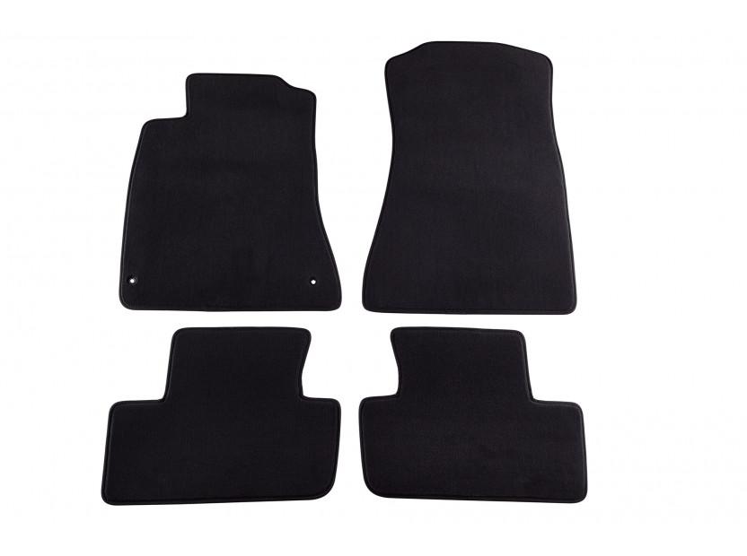 Мокетени стелки Petex за Lexus IS 11/2005-05/2013 4 части черни (B162) Style материя