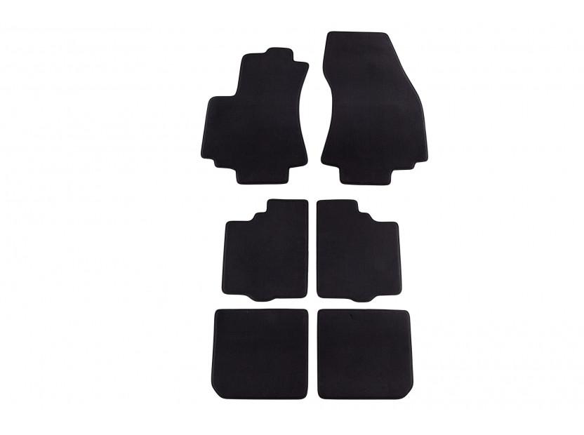Мокетени стелки Petex за Opel Zafira 03/1999-2004 6 части черни (KL01) Style материя