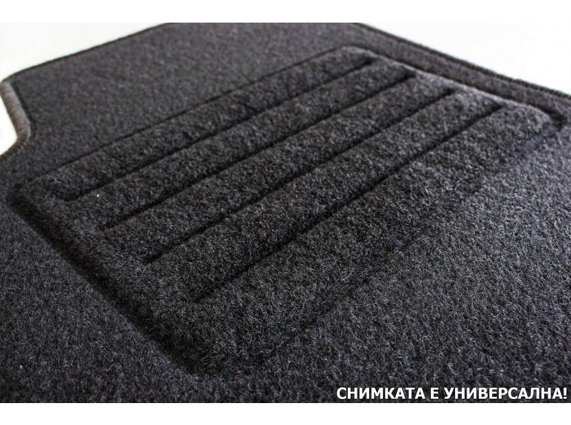Мокетни стелки Petex съвместими със Citroen Xsara 2000-2006, 4 части, черни, материя Rex 7