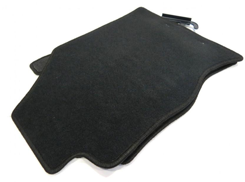 Мокетни стелки Petex съвместими с Ford Focus 1998-2001, 4 части, черни, материя Rex, захват KL01 9