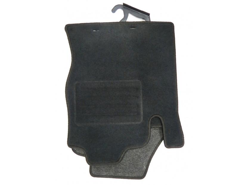 Мокетни стелки Petex съвместими с Ford Focus 1998-2001, 4 части, черни, материя Rex, захват KL01 5