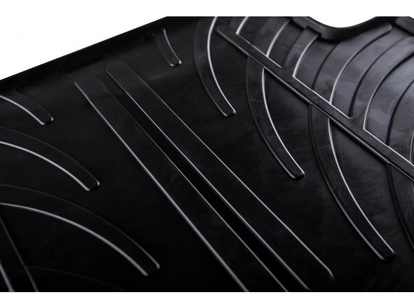 Гумени стелки Gledring за Audi A1 след 2018 година 4 части черни 2