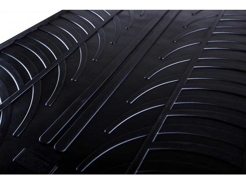 Гумени стелки Gledring за Audi A1 2010-2018 4 части черни 3