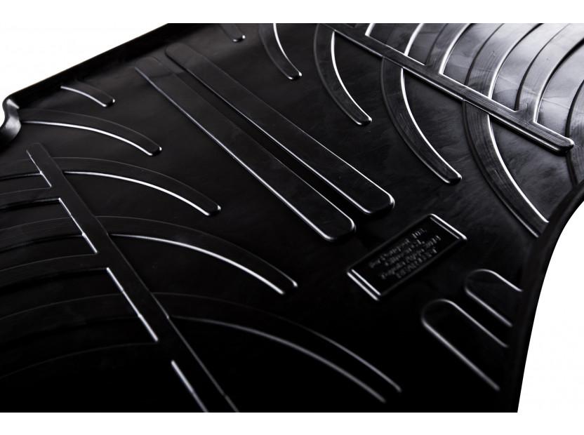Гумени стелки Gledring за Audi A1 2010-2018 4 части черни 5