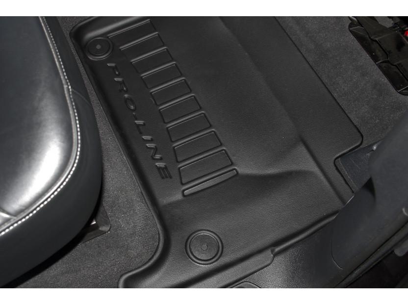 3D гумени стелки Frogum за Audi Q7 2006-2015, 4 части, черни 4