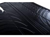 Гумени стелки Gledring за Volvo V60 след 2018 година 4 части черни