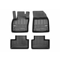 3D гумени стелки Frogum за Volvo XC40 след 2017 година, 4 части, черни