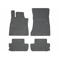 Гумени стелки Frogum за Mercedes S класа C217 Coupe след 2013 година 4 части черни