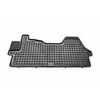 Гумена стелка Rezaw-Plast съвместима със Citroen Jumper, Fiat Ducato, Peugeot Boxer 2006-2014, 1 част, черна